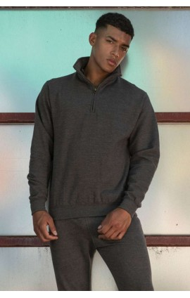 AWJH046 SOPHOMORE 1/4 ZIP SWEAT