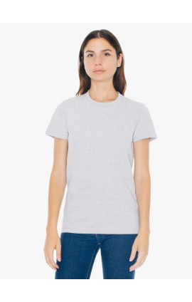 AA2102 WOMEN'S FINE JERSEY SHORT SLEEVE T-SHIRT