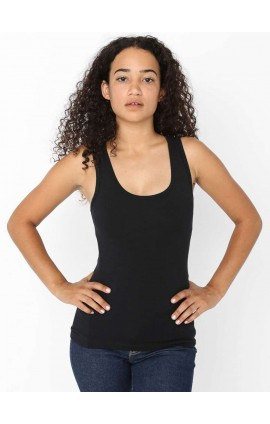 AA8308 WOMEN'S COTTON SPANDEX TANK TOP