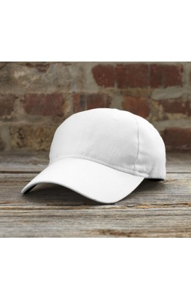 AN136 SOLID BRUSHED TWILL CAP