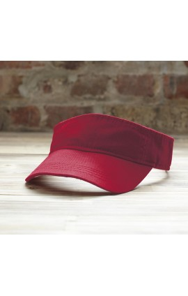 AN158 SOLID LOW-PROFILE TWILL VISOR