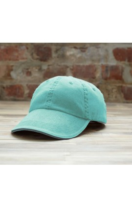 AN166 SOLID LOW-PROFILE SANDWICH TRIM TWILL CAP