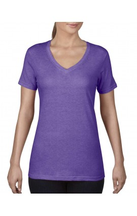 AN392 WOMEN'S FEATHERWEIGHT V-NECK TEE