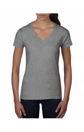 ANL88V WOMEN'S LIGHTWEIGHT V-NECK TEE