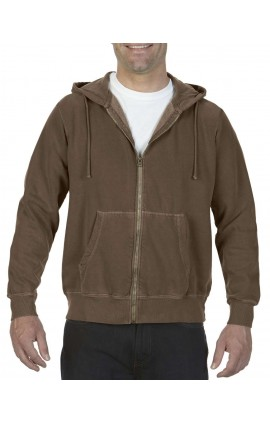 CC1568 ADULT FULL ZIP HOODED SWEATSHIRT