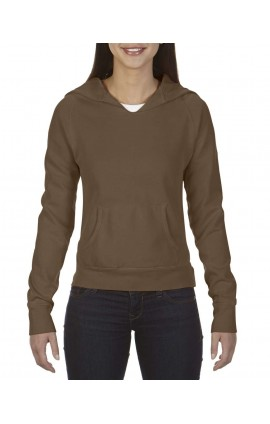 CC1595 LADIES' HOODED SWEATSHIRT