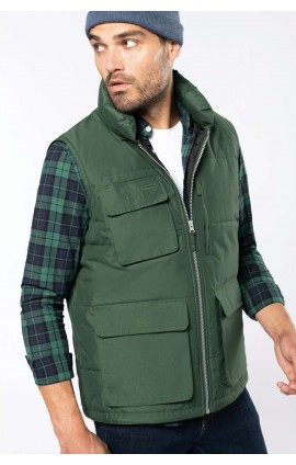 WK615 QUILTED BODYWARMER