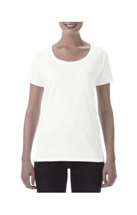 GIL64550 SOFTSTYLE® LADIES' DEEP SCOOP T-SHIRT