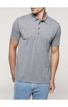 KA227 MEN'S JERSEY POLO SHIRT
