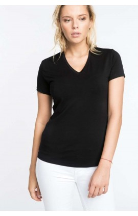KA327 ELECTRA – LADIES' SHORT-SLEEVED V-NECK T-SHIRT