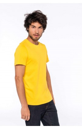 KA369 MEN'S SHORT-SLEEVED CREW NECK T-SHIRT