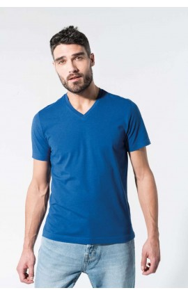 KA376 MEN'S ORGANIC COTTON V-NECK T-SHIRT