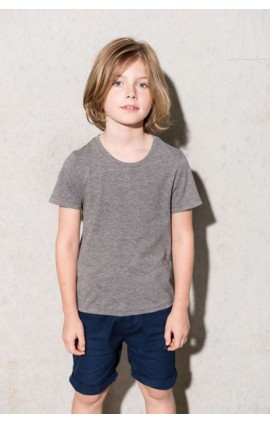 KA377 KIDS' ORGANIC COTTON SHORT SLEEVE T-SHIRT