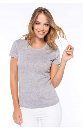 KA389 LADIES' CREW NECK SHORT SLEEVE T-SHIRT