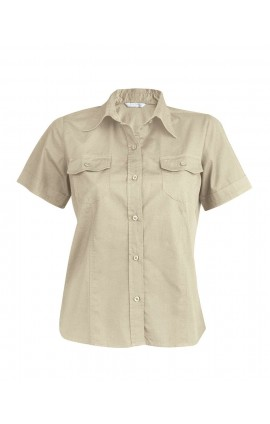 KA572 TROPICAL LADY - LADIES' SHORT SLEEVE FITTED SHIRT