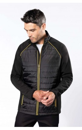 KA6147 UNISEX DUAL-FABRIC DAYTODAY JACKET