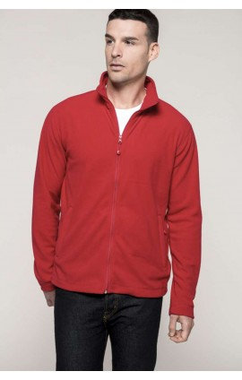 KA9102 FULL ZIP MICROFLEECE JACKET