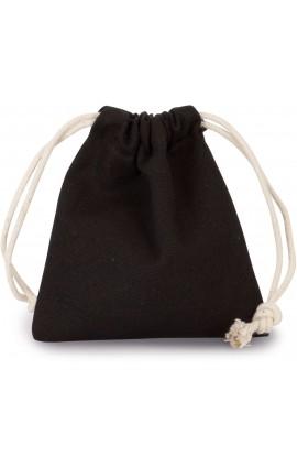 KI0748 COTTON BAG WITH DRAWCORD CLOSURE - SMALL SIZE