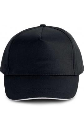 KP130 SANDWICH PEAK CAP - 5 PANELS