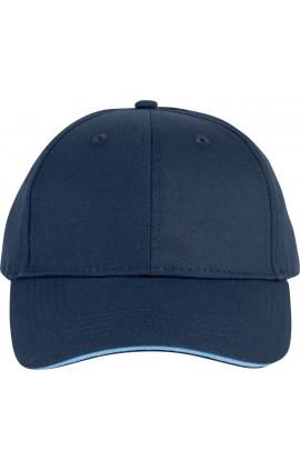 KP153 SANDWICH PEAK CAP - 6 PANELS