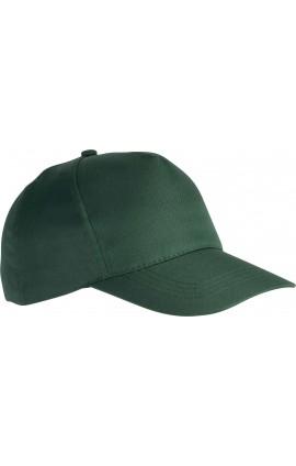 KP157 POLYESTER CAP - 5 PANELS