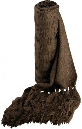 KP402 JACQUARD KNITTED SCARF