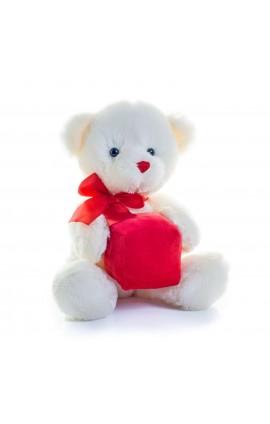MM031 HEART/GIFT BEAR