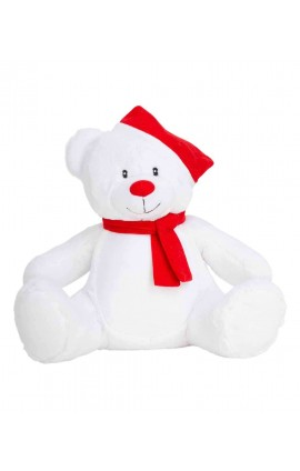 MM573 CHRISTMAS ZIPPIE BEAR