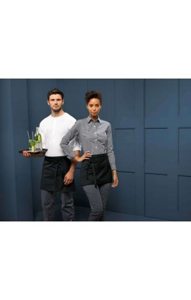 PR109 3 OPEN POCKET WAIST APRON