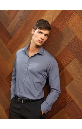 PR214 MEN'S LONG SLEEVE FITTED 'FRIDAY SHIRT'