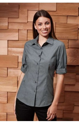 PR314 LADIES' LONG SLEEVE FITTED 'FRIDAY SHIRT'