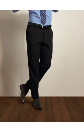 PR526 MEN'S TAILORED POLYESTER TROUSERS