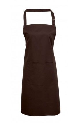 PR154 'COLOURS' BIB APRON WITH POCKET