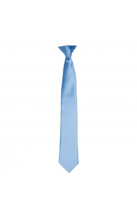 PR755 'COLOURS COLLECTION' SATIN CLIP-ON TIE