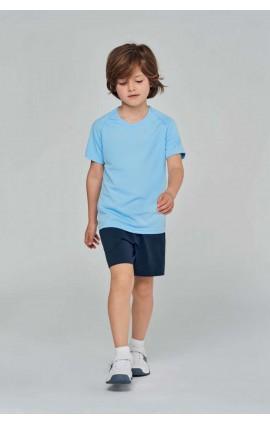 PA445 KIDS' SHORT SLEEVED SPORTS T-SHIRT