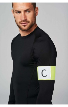 PA678 ELASTIC ARMBAND WITH LABEL HOLDER