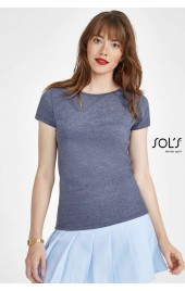 SO01181 SOL'S MIXED WOMEN - ROUND NECK T-SHIRT