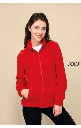 SO54500 SOL'S NORTH WOMEN - ZIPPED FLEECE JACKET