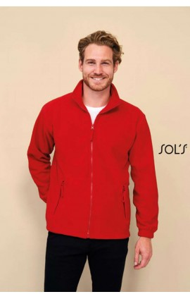SO55000 SOL'S NORTH MEN - ZIPPED FLEECE JACKET