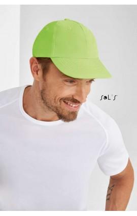 SO88109 SOL'S METEOR - SIX PANEL CAP