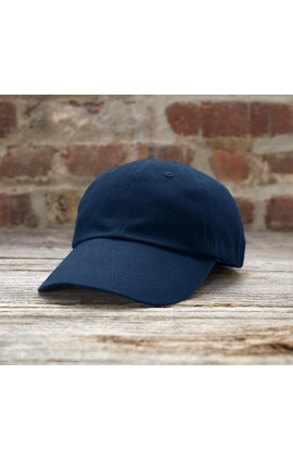 AN176 SOLID LOW-PROFILE BRUSHED TWILL CAP