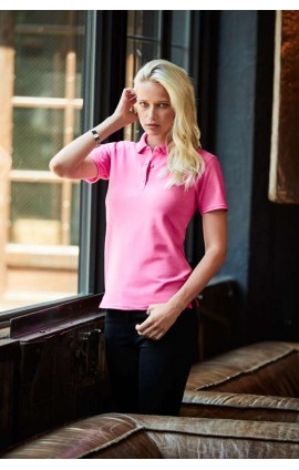 ANL6280 WOMEN'S DOUBLE PIQUÉ POLO