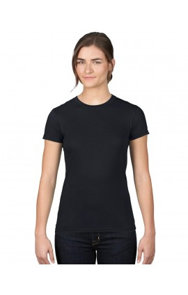 AN379 WOMEN'S FASHION BASIC FITTED TEE