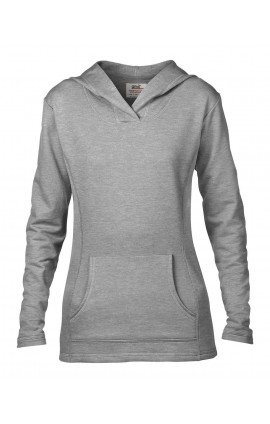ANL72500 WOMEN'S HOODED FRENCH TERRY