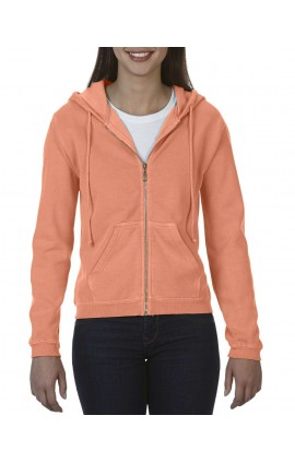 CC1598 LADIES' FULL ZIP HOODED SWEATSHIRT