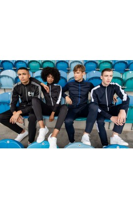 FHLV871 ADULT'S KNITTED TRACKSUIT TOP