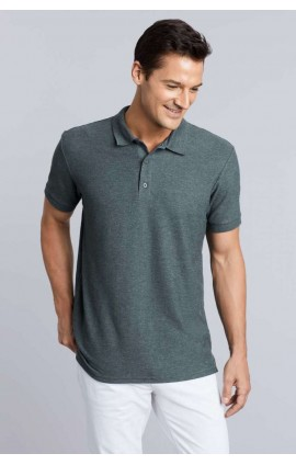 GI85800 PREMIUM COTTON® ADULT DOUBLE PIQUÉ POLO