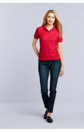 GIL75800 DRYBLEND® LADIES' DOUBLE PIQUÉ POLO