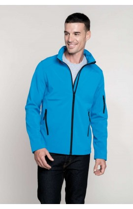 KA401 MEN'S SOFTSHELL JACKET