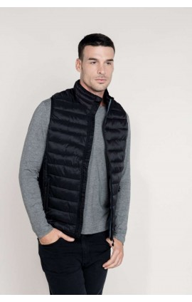 KA6113 MEN'S LIGHTWEIGHT SLEEVELESS DOWN JACKET
